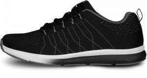 Pánske športové topánky NORDBLANC Velvety čierne/sivé