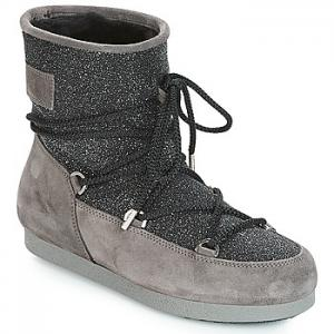 Obuv do snehu Moon Boot  FAR SIDE LOW SUEDE GLITTER