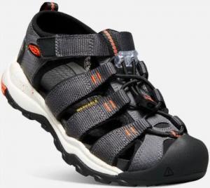 Sandále Keen NEWPORT NEO H2 JR, magnet / spicy orange