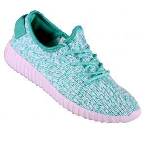 Hood Babes Coach 2.0 Women Low Sneaker Mint White