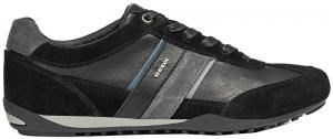 GEOX Tenisky Wells C Black / Dk Jeans U52T5C-022ME-C9B4N 41