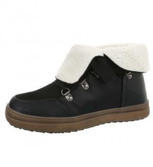 Dámske štýlové zimné topánky