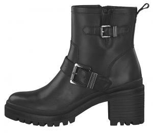 Tamaris Dámske členkové topánky 1-1-25419-23-001 Black 37