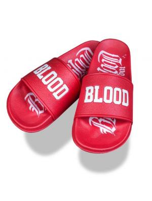 Blood In Blood Out Logo Sandalen