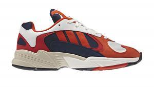 adidas Yung-1 červené B37615 - vyskúšajte osobne v obchode