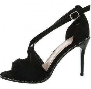 Dámske módne sandále na podpätku