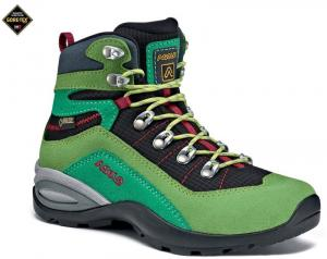 Detské topánky Asolo Enforce GV JR lime/black/A168