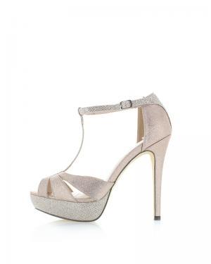 Zlaté sandále Menbur Arella