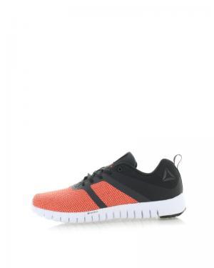 Dámske čierno-oranžové tenisky Reebok ZQUICK Lite
