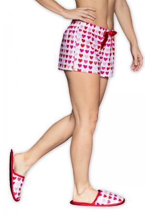 Dámske červeno-biele papuče Sweet Love #3 small