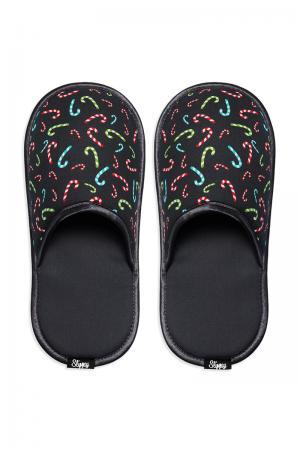 Čierne papuče Stick