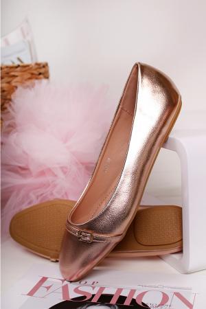 Ružovozlaté balerínky Babette