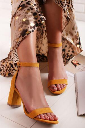 Žlté sandále 35198