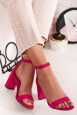 Fuchsiové sandále 35198