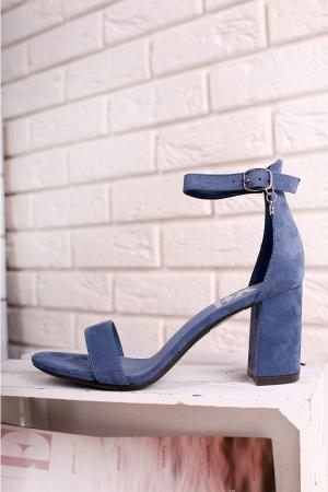 Modré sandále 35198