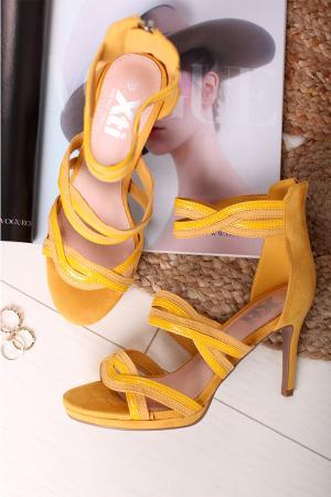 Žlté sandále 35185