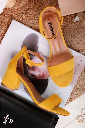 Žlté sandále 69539