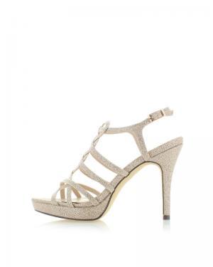 Zlaté sandále Menbur Vinitta
