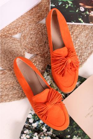 Oranžové mokasíny Leonette