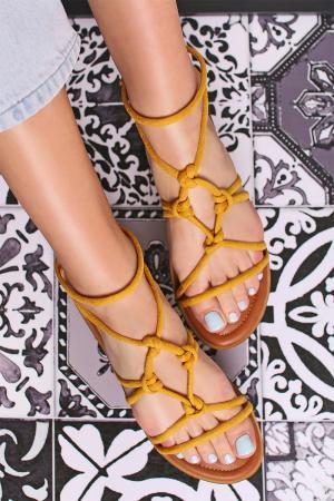 Žlté sandále 69633