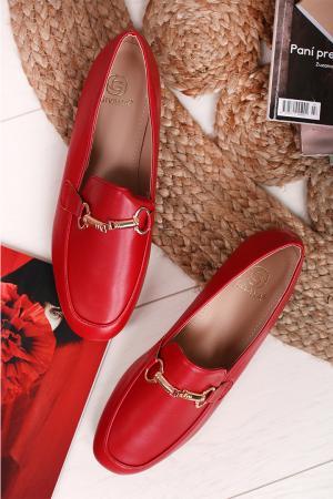 Červené mokasíny Lorenz