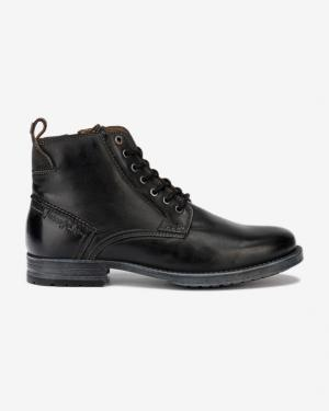 Wrangler Marlon Boot Členková obuv Čierna